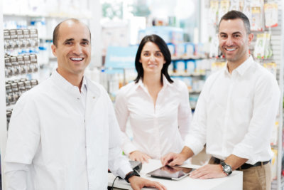 group of pharmacist